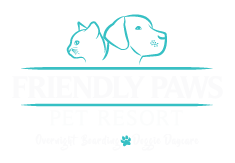 Friendly Paws Pet Resort Logo
