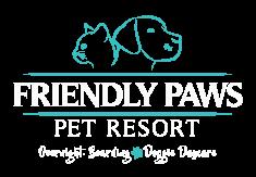 Friendly Paws Pet Resort Logo